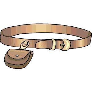 Belt clip art.