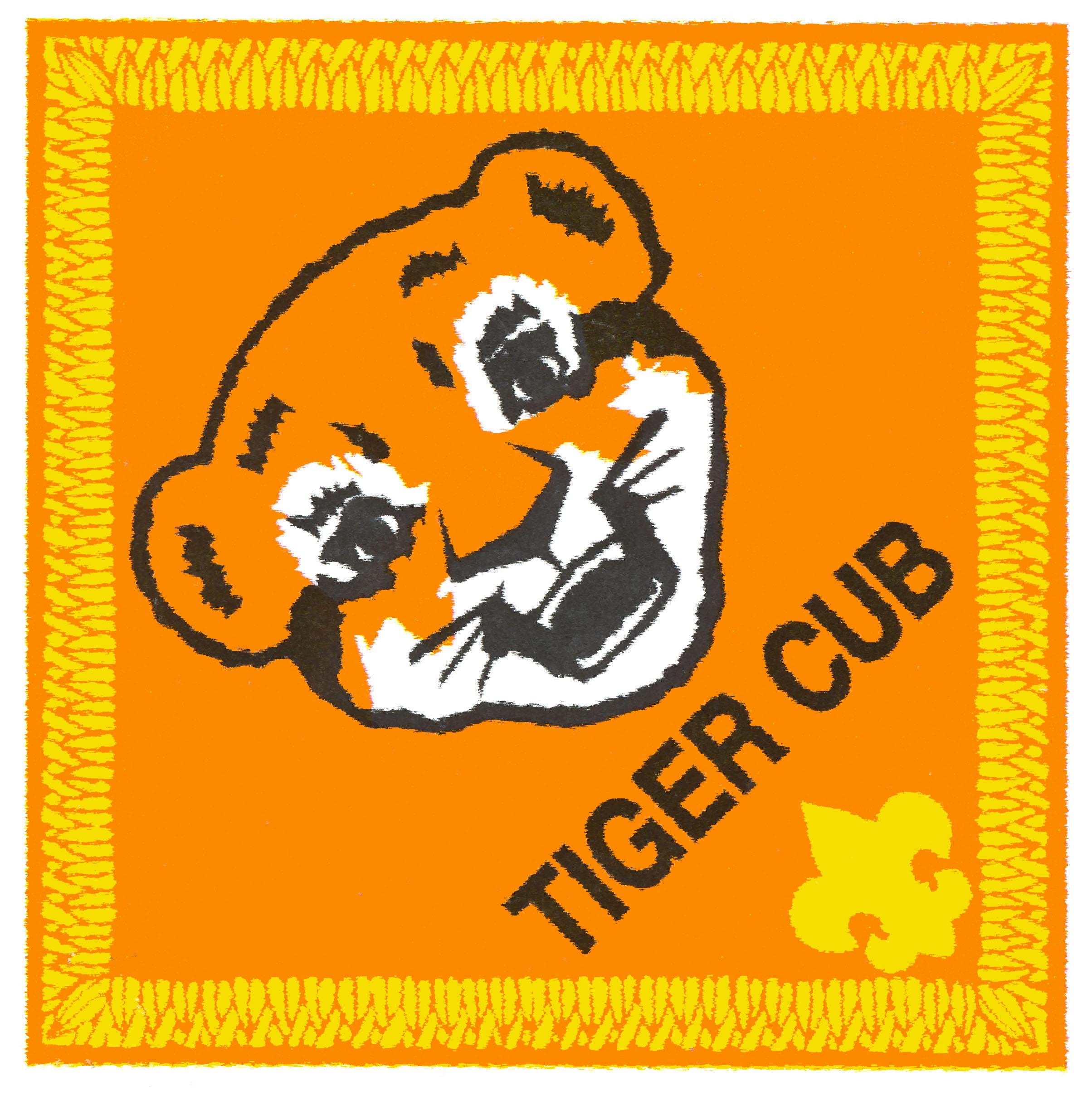 Tiger Cub Scout Clipart.