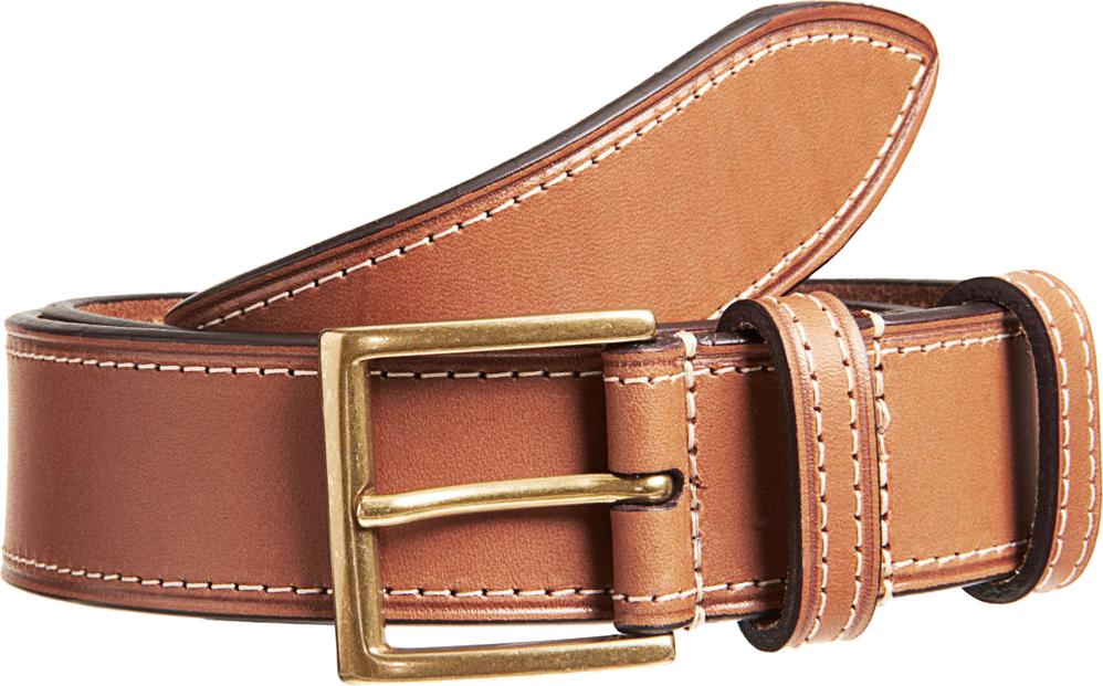 Mens Leather Belt PNG Image.