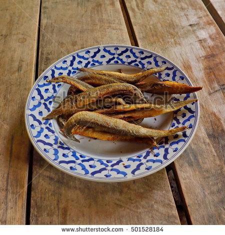 Fried Eel Stock Photos, Royalty.