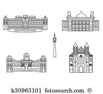 Belvedere Clipart and Illustration. 18 belvedere clip art vector.