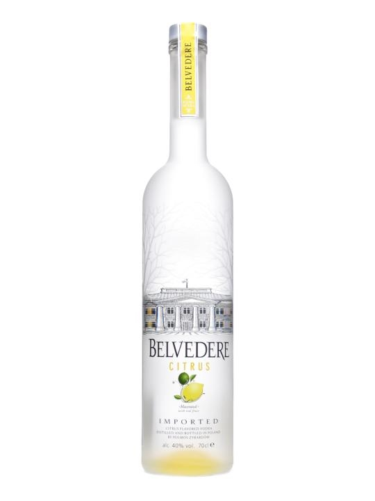 Belvedere Citrus Vodka.
