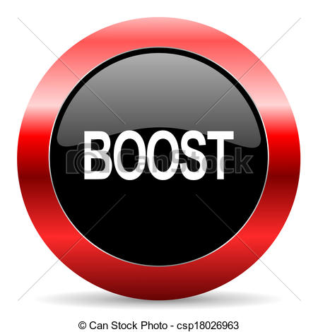 Stock Illustration of boost icon csp18026963.