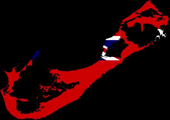 Bermuda flag clipart.