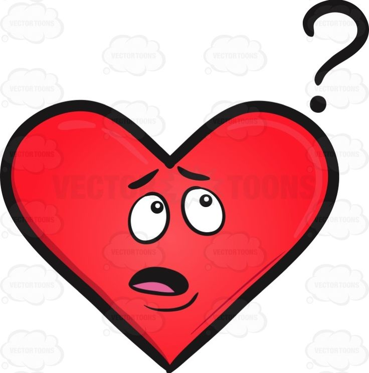 No Idea Heart Emoji.