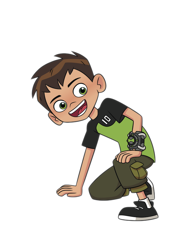 Cartoon Characters: Ben 10 (reboot; PNG).