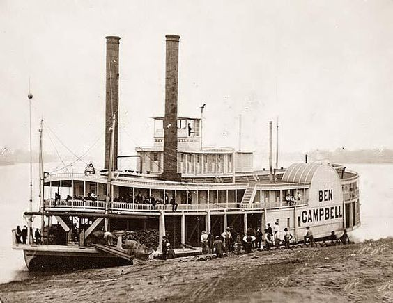 Here we present an historic image of the Ben Campbell, steamship.