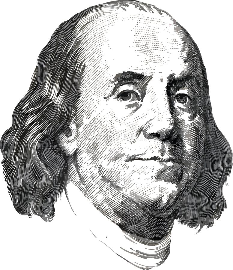 Benjamin Franklin Stock Illustrations.
