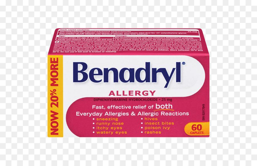 Benadryl png download.