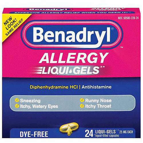 Benadryl Dye.