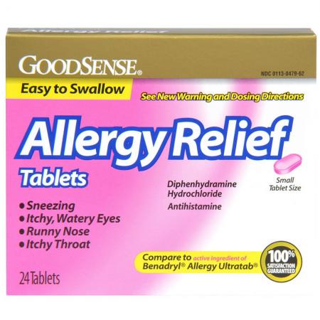 Benadryl Equivalent (Diphenhydramine) — Kit Pharma.