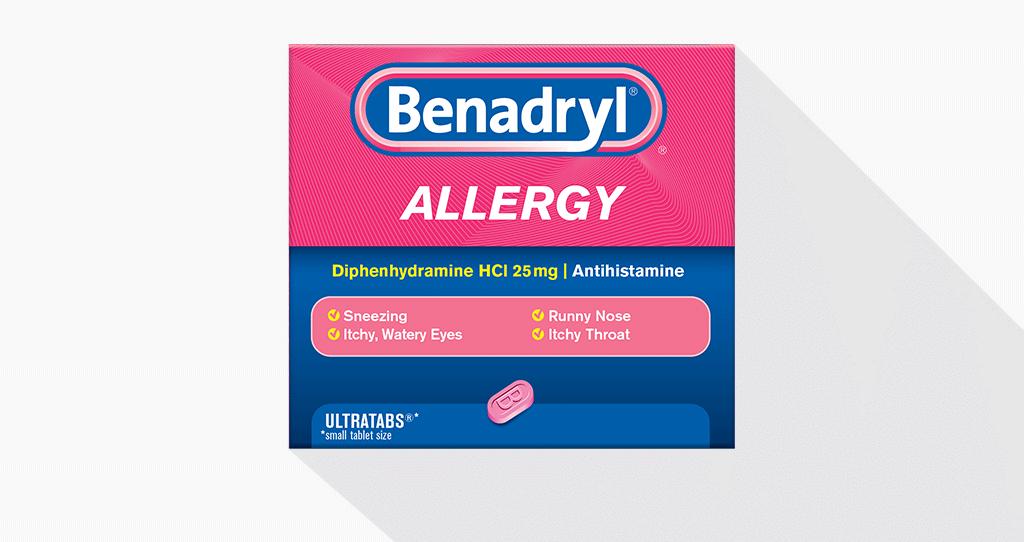 BENADRYL® Dosing Guide.