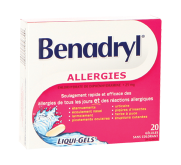 Benadryl Allergy Liqui.