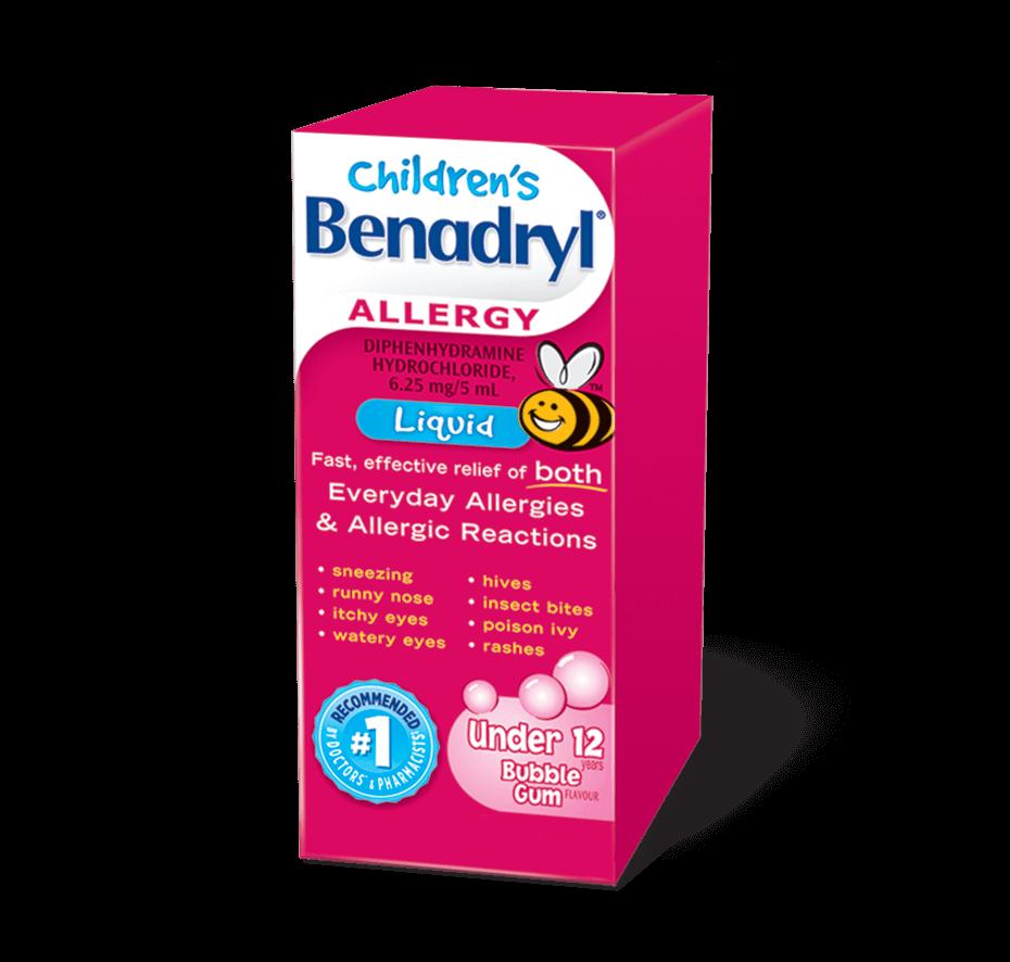 Children's BENADRYL® Liquid.