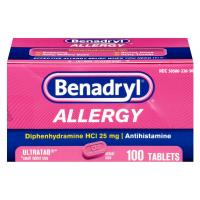 Benadryl Allergy Ultratab Packet Dispensers 60 ea.