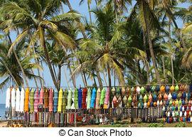 Pictures of Beach Benaulim Goa India.