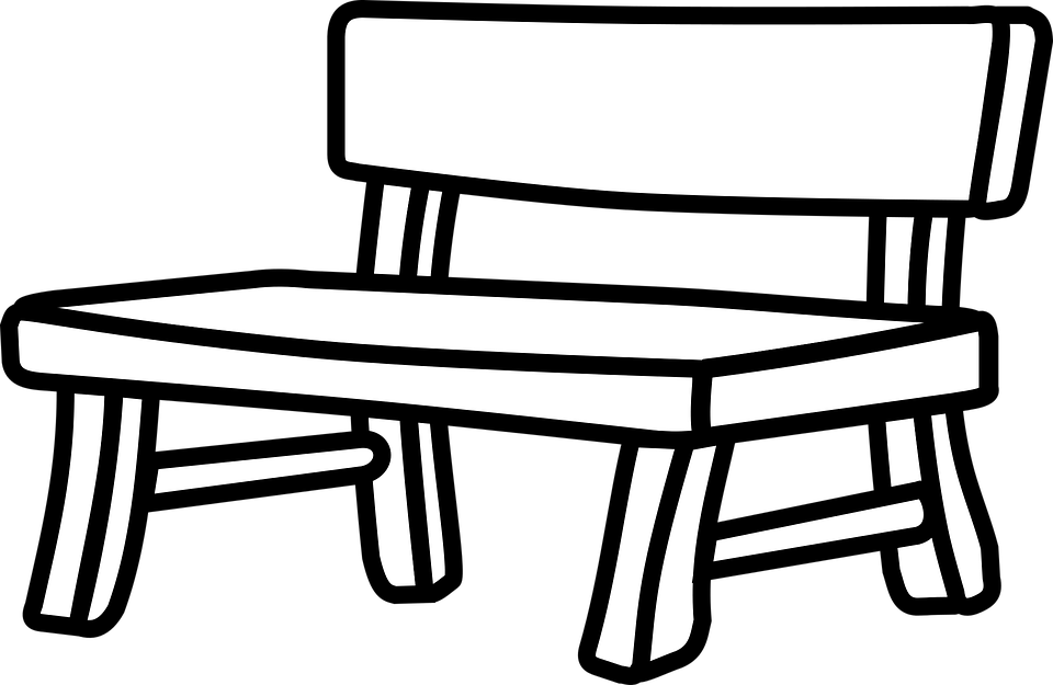 Free Bench Clipart Black And White, Download Free Clip Art.