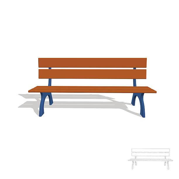Best Park Bench Illustrations, Royalty.