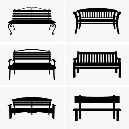 10,632 Park Bench Cliparts, Stock Vector And Royalty Free Park Bench.