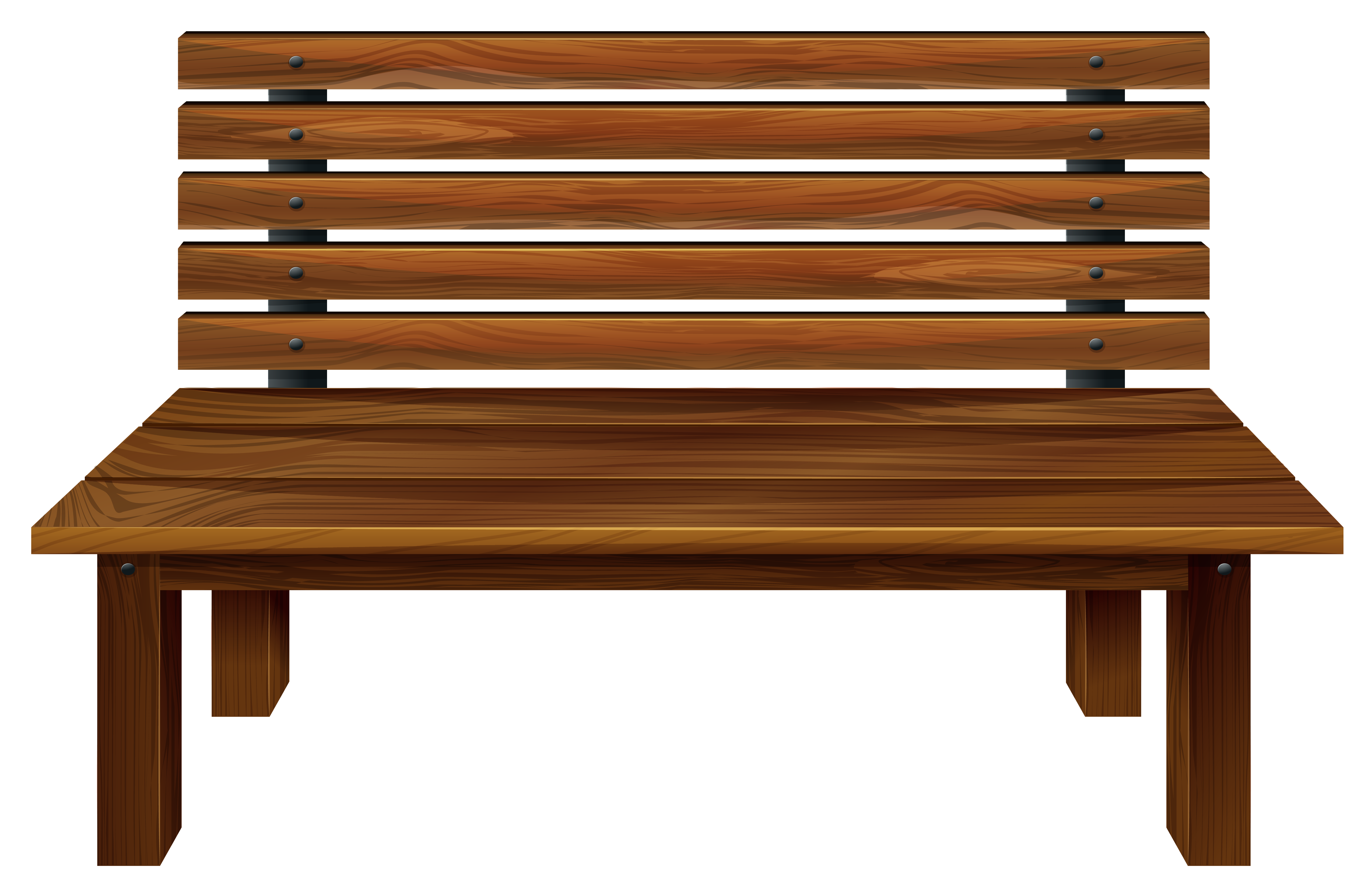 Lobby Bench Clip Art ~ Wooden bench clipart clipground