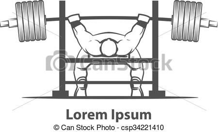 Bench press Illustrations and Clip Art. 379 Bench press royalty.