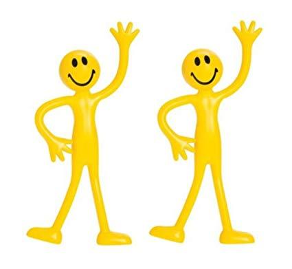 Amazon.com: Bendy Man Smiley Bendable Fidget Stress Relief.