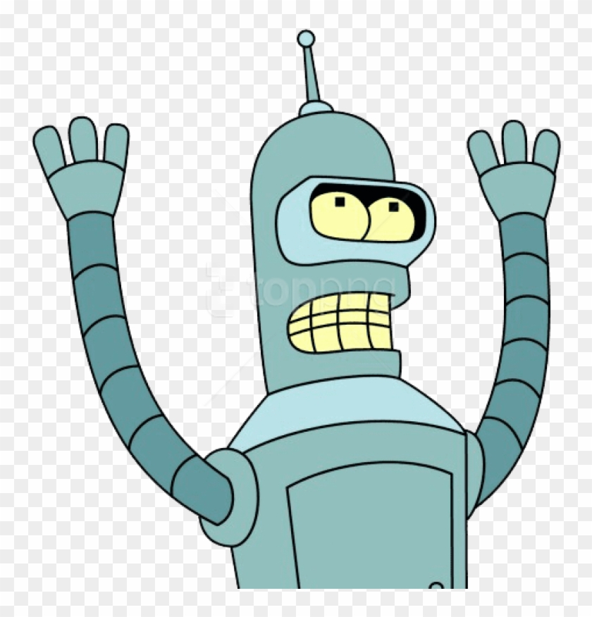 Free Png Download Futurama Bender Clipart Png Photo.