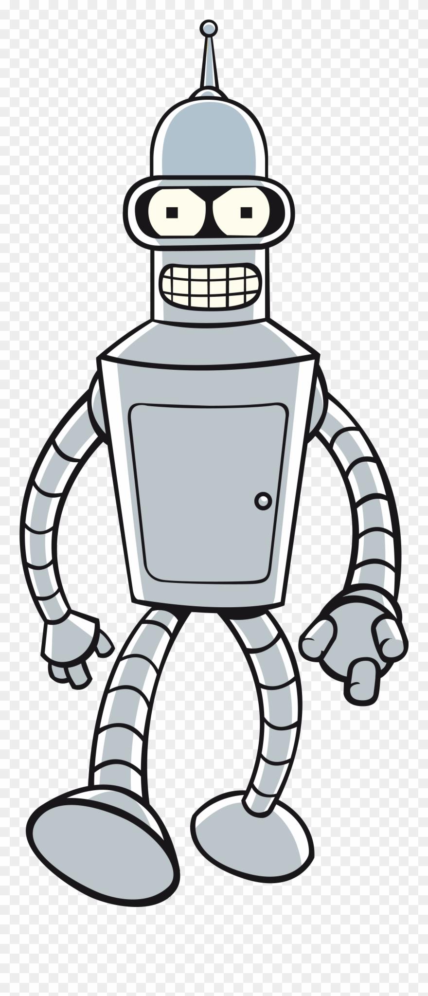 Futurama Clipart Bender.