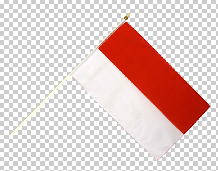 03120 Flag Rectangle, bendera indonesia, red and white.