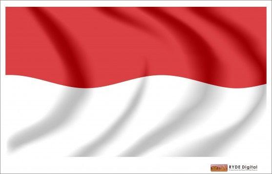 7 Gambar Bendera Indonesia Merah Putih Vector CDR AI PDF.