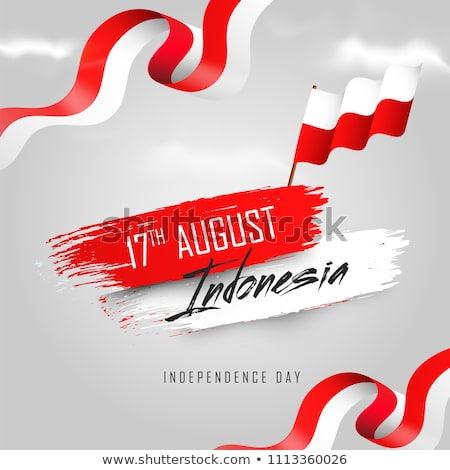Flag Indonesia Free Vector Art.