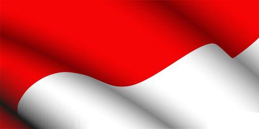 Gambar Bendera Indonesia Merah Putih Vector CDR AI PDF.