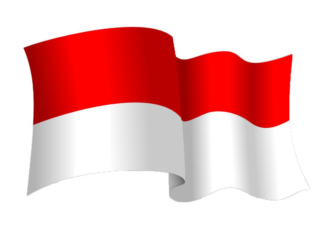 Clipart bendera merah putih 3 » Clipart Station.