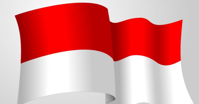 Bendera Merah Putih Berkibar Png Vector, Clipart, PSD.
