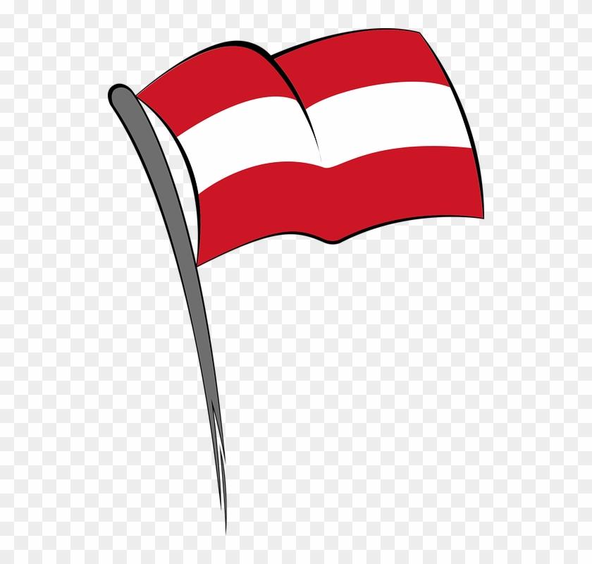 Vektor Bendera Merah Putih Png.
