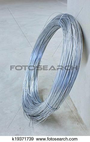 Stock Photograph of Steel tie wire k19371739.
