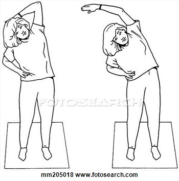 Side Bend Clipart.