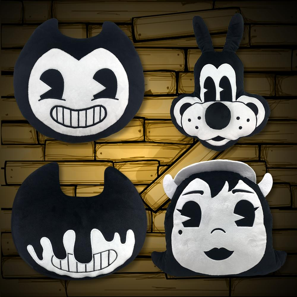 Bendy and the Ink Machine Plush Pillow Bundle (4.