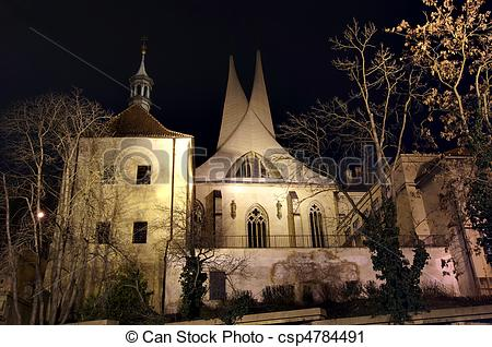 Stock Photography of Benedictine monastery.