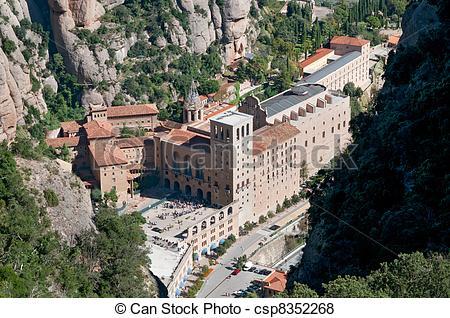 Pictures of Montserrat monastery.