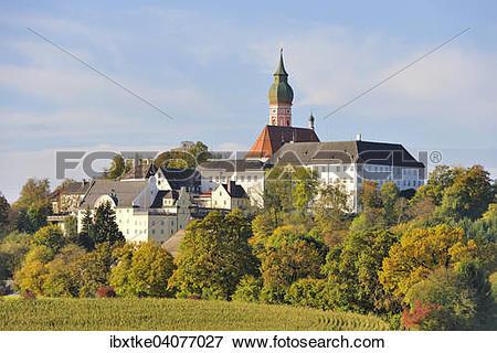 "Picture of ""Kloster Andechs, Benedictine Monastery, Andechs, Upper."