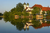 "Stock Photo of ""Benedictine Kloster Seeon monastery with monastery."