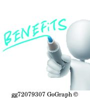 Benefits Clip Art.