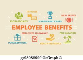 Employee Benefits Clip Art.