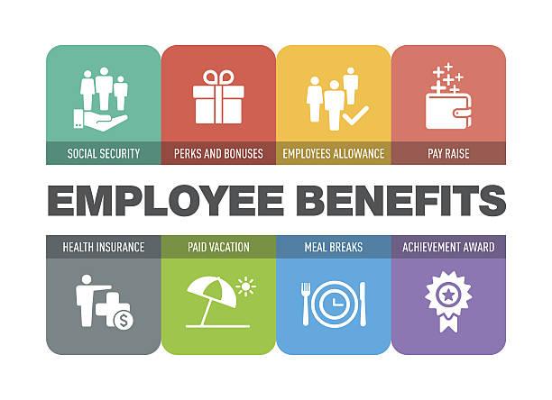 Best Employee Benefits Illustrations, Royalty.