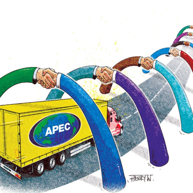 Apec will benefit from a free.
