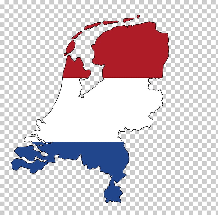 Flag of the Netherlands Benelux Map, color jiugong map PNG.