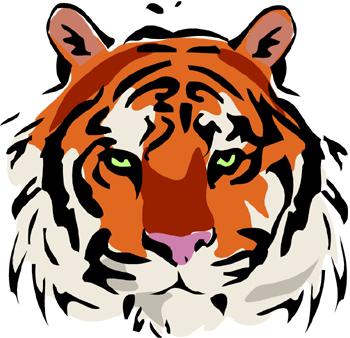 69 Bengal Tiger Clipart.