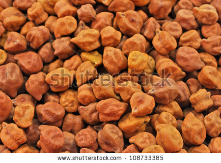 Bengal Gram Chick Peas Stock Photos, Royalty.