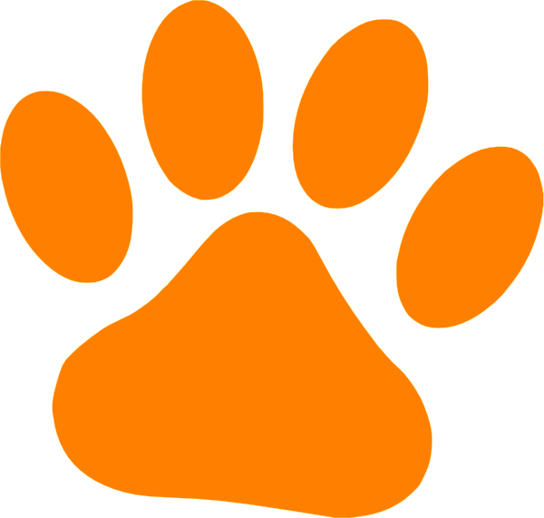 Bengal Paw Clipart.